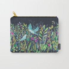 Little Garden Birds in Watercolor Carry-All Pouch