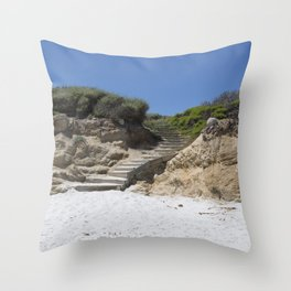Carol M Highsmith - Steps Throw Pillow