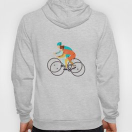Biker Bike Bicycle Cyclist BMX Bicycling Cycling Exercise Workout Pedal Gift Hoody