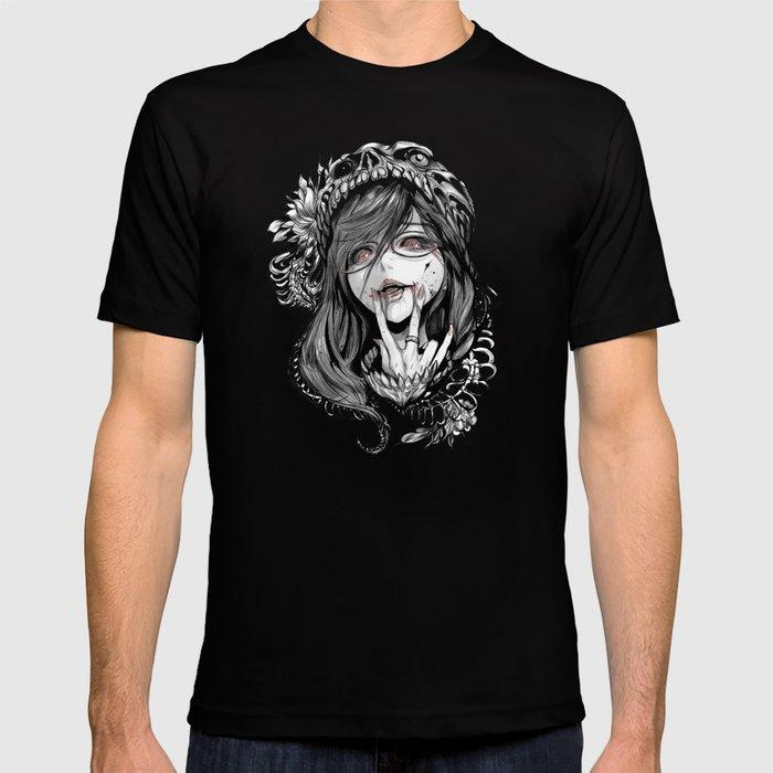 ghoul fanart w T-shirt