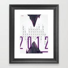 Twenty Twelve Framed Art Print