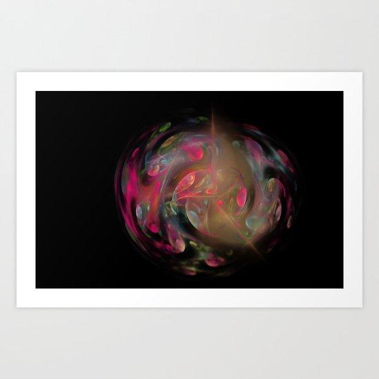 the Ball of the Secret  (A7 B0203) Art Print