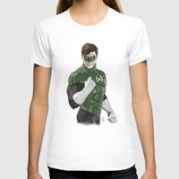 green lantern T-shirts featuring Green Lantern by Alex Heuchert