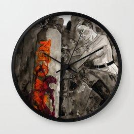 Incoming Zombies Wall Clock