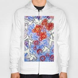 Floral Doves  #society6 #decor #buyart Hoody