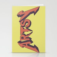 artsy Stationery Cards featuring Artsy by Scott Erickson