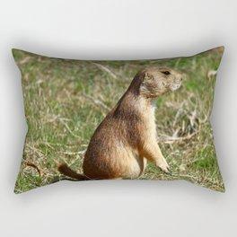 Black-tailed Prairie Dog Pose Rectangular Pillow