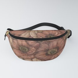 Poppies and Lilies Fanny Pack