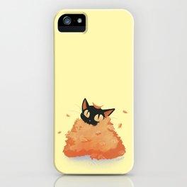 Autumn Cat iPhone Case