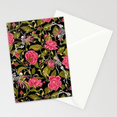 Death of Summer (black and rose) Stationery Cards