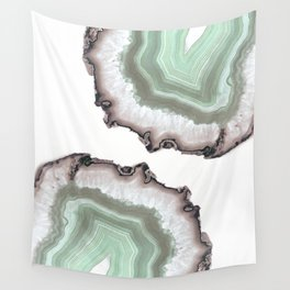 Light Water Agate Wall Tapestry