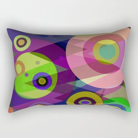 Abstract #512 Rectangular Pillow