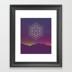 Flower Of Life 002 Framed Art Print