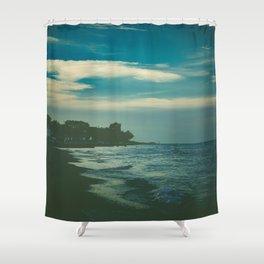 Good Bye Blue Sky Shower Curtain