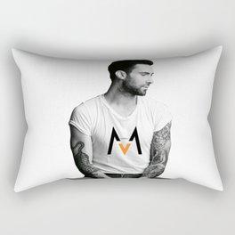 adam levin maroon5 Rectangular Pillow