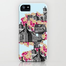 FILLED WITH CITY II iPhone Case