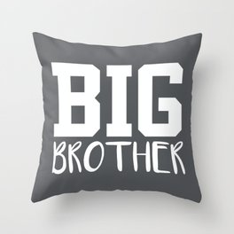 Big Brother, Pregnancy Reveal Throw Pillow