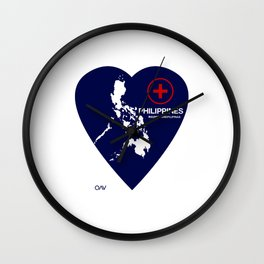 Philippine Support Wall Clock