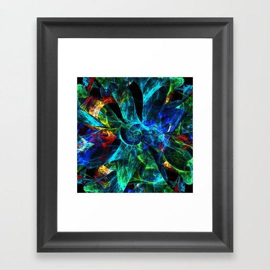 Colorful Petals Framed Art Print