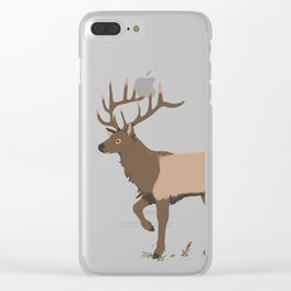 Elk Clear iPhone Case