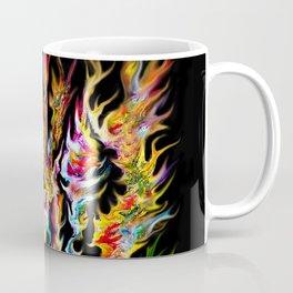 Abstract Space Flames Coffee Mug