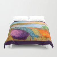 oakland Duvet Covers featuring A Beautiful View by Ana Lillith Bar