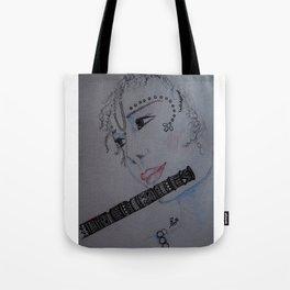 Lord Krishna / Bal Gopal / Artist Amiee Tote Bag