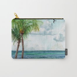 Peaceful Mexico Beach Carry-All Pouch