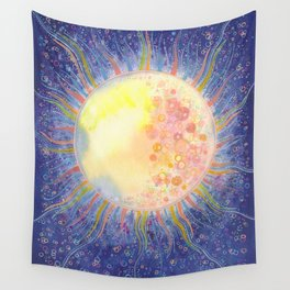 Winter solstice Wall Tapestry
