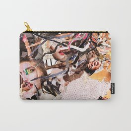 Medusa - Magazine Collage Carry-All Pouch