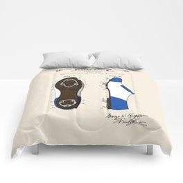 Baseball Cleat Patent Comforters