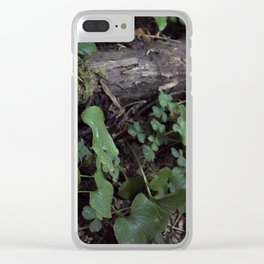Leafies Clear iPhone Case