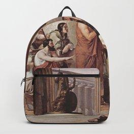 Francesco Hayez - Ulysses at the court of Alcinous Backpack