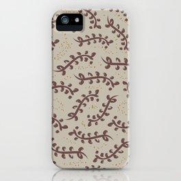 Twiggy (Beige) iPhone Case