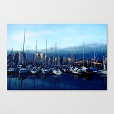 Vancouver Yacht Club Canvas Print