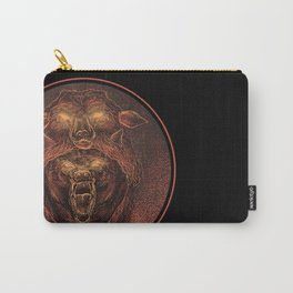 Wolf in a Sheep's Clothing (color revision) Carry-All Pouch
