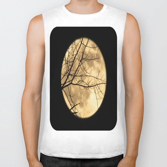 Shadows on the Moon Biker Tank