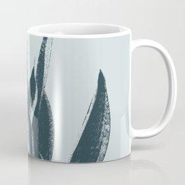 Long Leaves of The Green Plant #decor #society6 #buyart Coffee Mug