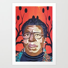 Octavia Butler Portrait Art Print
