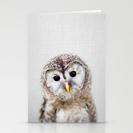 Baby Owl - Colorful by galdesign