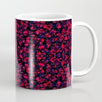 crystals Mugs featuring Crystals  by Claudia Owen