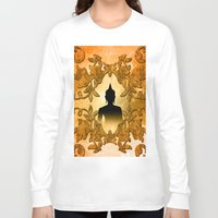 buddhism Long Sleeve T-shirts featuring Buddha  by nicky2342