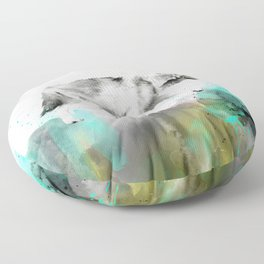 Wild No. 3 // Wolf Floor Pillow