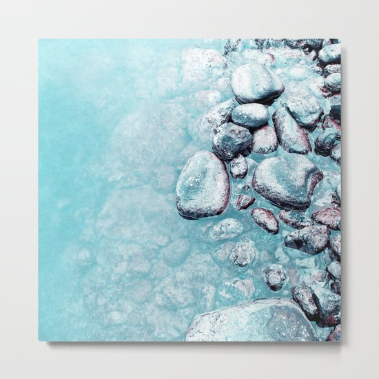 stone Metal Print