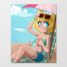 Pink Soda Canvas Print