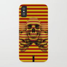 Skulls pop iPhone Case