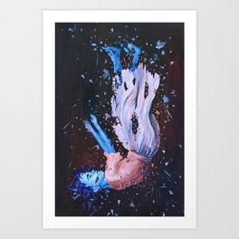 Falling Art Print
