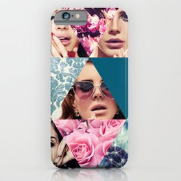 Lana Del Floral iPhone Case