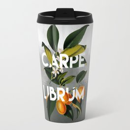 Seize the Book Travel Mug