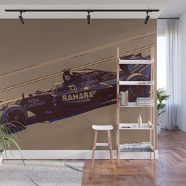 Formula one racer Wall Mural